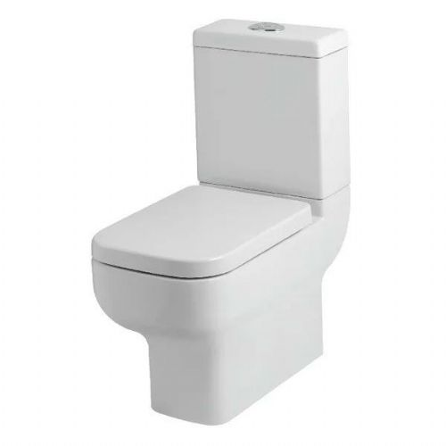 Kartell Options 600 Close Coupled Toilet - Cistern - Premium Close Seat - White